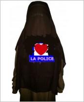 niqab love police