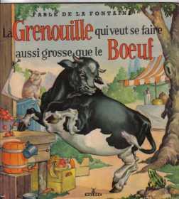 grenouille versus boeuf