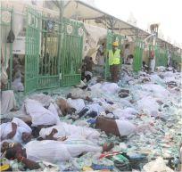 bousculades Mekkah