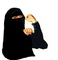 niqab d'honneur