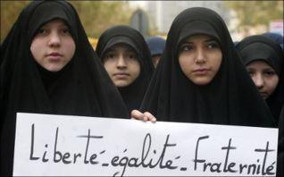 liberté égalité fraternité du Hijab